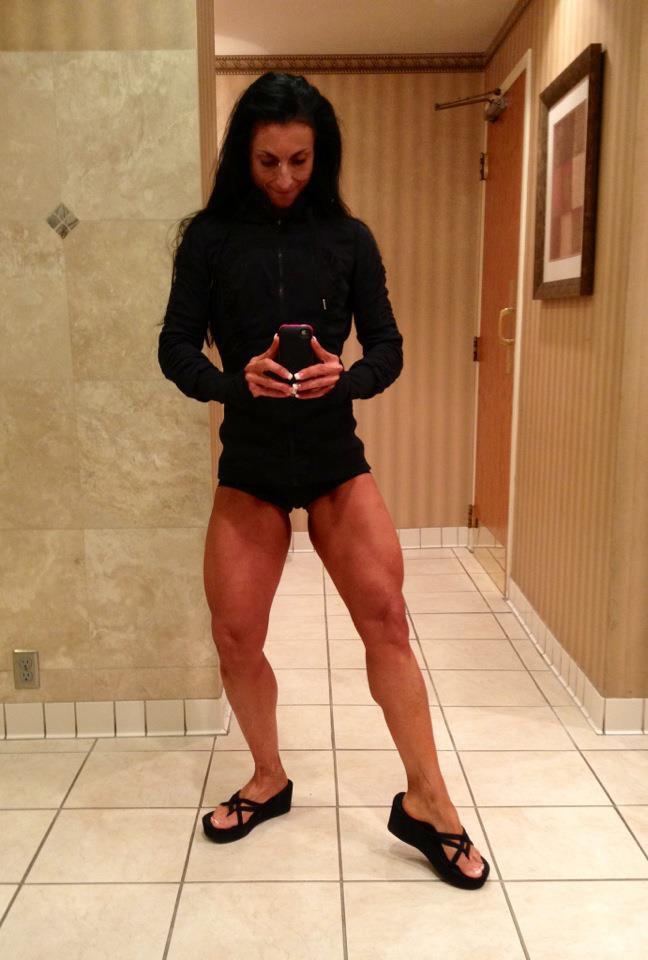 After morning cardio the day following the 2012 IFBB Titans Grand Prix
